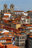 Cityscape of historical center of Porto, Portugal Royalty Free Stock Photo