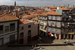Cityscape of historical center of Porto, Portugal Stock Image