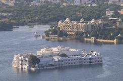 Cityscape Udaipur India. Cityscape of historical city Udaipur India Stock Image