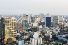 Cityscape of Ho Chi Minh city. Ho Chi Minh City has the most dynamic economy in Vietnam Stock Image