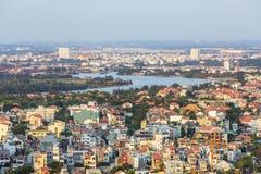 Cityscape of Ho Chi Minh city Stock Photo