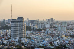 Cityscape of Ho Chi Minh city Stock Photos
