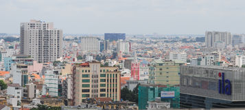 Cityscape of Ho Chi Minh city Stock Photos