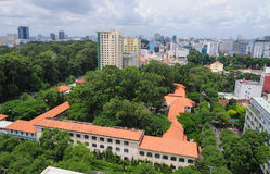Cityscape of Ho Chi Minh city Stock Images