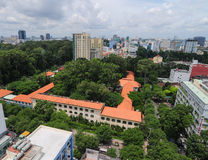 Cityscape of Ho Chi Minh city Stock Photography