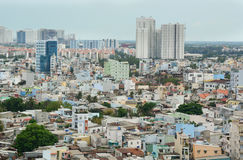 Cityscape of Ho Chi Minh city Stock Photo