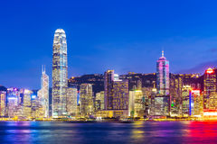 Cityscape in Hong Kong Royalty Free Stock Photo