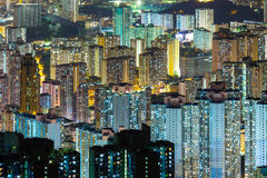 Cityscape in Hong Kong Royalty Free Stock Photography