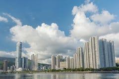 cityscape Hong Kong Fotografering för Bildbyråer