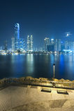 cityscape Hong Kong Royaltyfria Foton