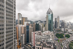 Cityscape of Hong Kong Stock Photography