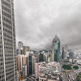 Cityscape of Hong Kong Royalty Free Stock Images