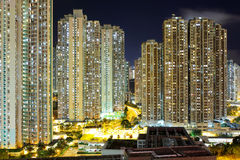Cityscape in Hong Kong Royalty Free Stock Images