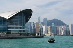 Cityscape of hongkong royalty free stock image