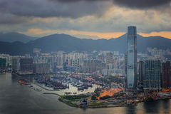 Cityscape in Hongkong Stock Images