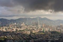Cityscape of hongkong Royalty Free Stock Images