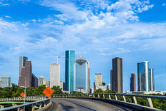Cityscape of Houston Royalty Free Stock Photo