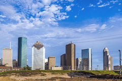 Cityscape of Houston Royalty Free Stock Image
