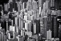 Cityscape i Hong Kong Arkivbilder