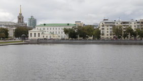 Cityscape i yekaterinburg, ryssfederation arkivbild