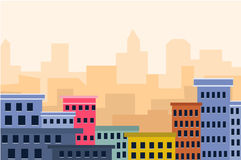 Cityscape. Is a   illustration Royalty Free Stock Image