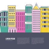Cityscape Illustration Stock Image