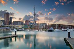 City of Auckland, New Zealand. Stock Photos