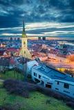 City of Bratislava. Royalty Free Stock Photos