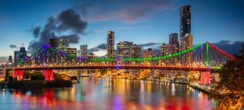 Brisbane Panorama. Stock Images