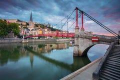 City of Lyon, France. Stock Photos
