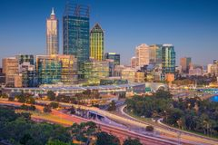 City of Perth. Stock Photography