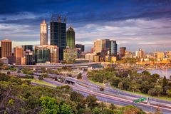 City of Perth. Royalty Free Stock Photography