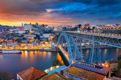 Porto, Portugal. royalty free stock photography