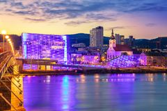 Linz, Austria. royalty free stock images