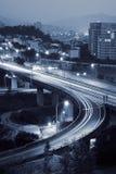 Cityscape of interchange Royalty Free Stock Photo