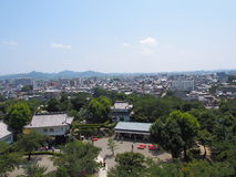 Cityscape of Inuyama city in Aichi, Japan Royalty Free Stock Photo