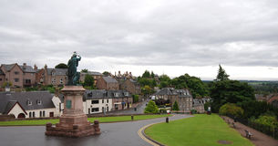 Cityscape of Inverness in Scotland Highlands Royalty Free Stock Photos