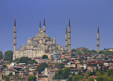 Cityscape of Istanbul stock images