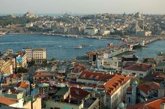 cityscape istanbul Arkivfoto