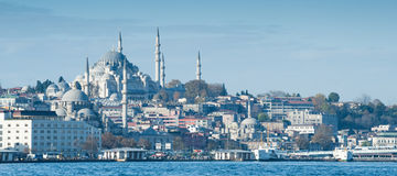 Cityscape of Istanbul Stock Photo