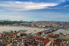 Cityscape Istanbul Bosfor Stock Image