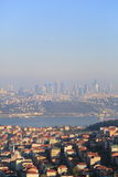 Cityscape of Istanbul Royalty Free Stock Photos