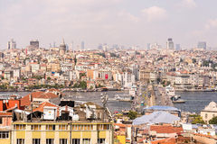 Cityscape of Istanbul, Turkey Stock Images