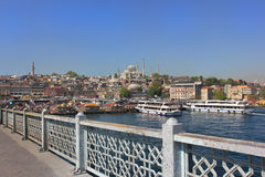 Istanbul panorama, Turkey stock photos