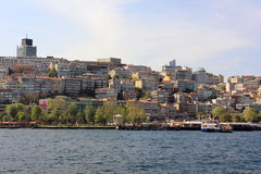Istanbul panorama, Turkey royalty free stock images