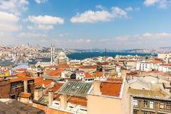 Cityscape of Istanbul, Turkey Stock Image
