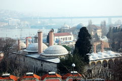 Cityscape of Istanbul Royalty Free Stock Images