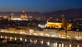 Cityscape Italië van Florence royalty-vrije stock afbeeldingen