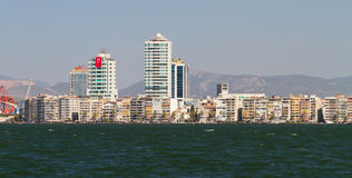 Cityscape of Izmir, Turkey Royalty Free Stock Image
