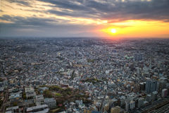 Cityscape in Japan stock photos
